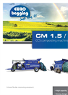 EuroBagging - Model CM 1,5 - Machine Serves for Smaller Composting Plants - Technical Sheet