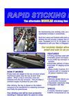 Rapid - Sticking Line Datasheet