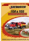 Haybuster - Model 2100 - Balebuster - Bale Processor Brochure