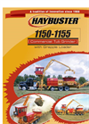 Haybuster - Model 1150 - Grapple Loader - Tub Grinder Brochure