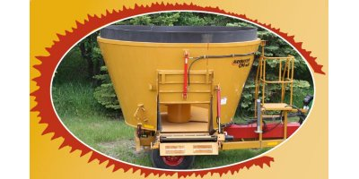 Haybuster - Model CMF-430 - Vertical Mixer