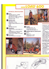 Euro Dig - 600 - Mini Loader Brochure