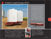 Model PLS7400 - Transportable Liquid Storage Unit- Brochure