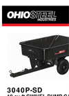 Ohio Steel - 10 Cu Ft - Poly Swivel Dump Cart Brochure