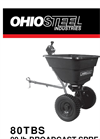 Ohio Steel - 80 lb - Broadcast Spreader Brochure