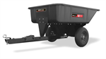 Ohio Steel - Model 10 Cu Ft - Poly Swivel Dump Cart