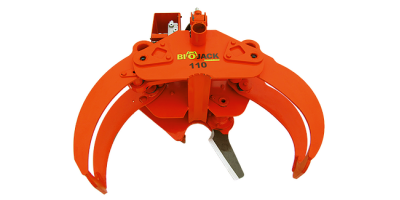 Biojack - Model 110 - Energy Wood Grapple for Loaders