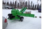 Bilke - Model S3 Kulkuri - Mobile Firewood Processor