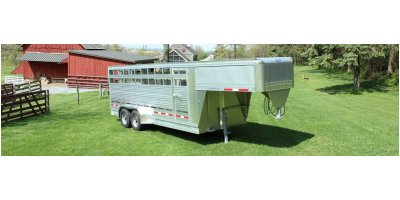 Maverick  - Model LS - Gooseneck Livestock Trailers
