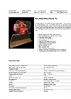 Pento - Model 5002 TL - Two Drum Forestry Winch Brochure