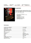 Igland - Model 2001 - One Drum Winch Brochure