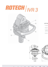 ROTECH - Model IVR 3 - Vane Rotator Brochure