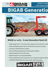 Bigab - Model 10 - 14 G2 - Hook Lift Trailer Brochure