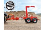 Bigab - Model 10 - 14 G2 - Hook Lift Trailer