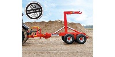 Bigab - Model 10 - 14 G2 - Hook Lift Trailer