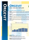 Orgevit - Basic Organic Fertilizers- Brochure
