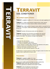 Terravit - Soil Conditioners- Brochure