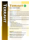 Terravit - Model V - Soil Conditioners- Brochure
