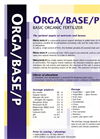 Model Orga/Base/P - Basic Organic Fertilizers- Brochure
