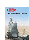 Mepu - Model M5 Series - Mobile Dryers - Brochure