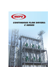 Mepu - Model C Series - Continuous Flow Dryers - Brochure