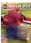 Model TW-HV1 - Log Splitter- Brochure