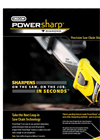 PowerSharp- Precision Saw Chain Sharpening System - Brochure