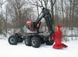 Timber Pro  - Rubber Tired Feller Buncher