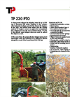 230 PTO - Wood Chipper Brochure