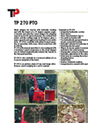 270 PTO - Wood Chipper Brochure