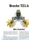 Bracke - Model T21.b - Disc Trencher Brochure