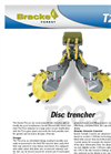 Bracke - Model T26.a - Disc Trencher Brochure