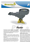 Bracke - Model P11.a - Planting Machine Brochure