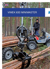 Minimaster - Model 630 - 8-Wheel Driven Mini Forwarder - Brochure