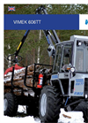 Vimek - Model 606TT - High Ground Clearance Machine - Brochure