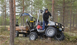 Vimek - Model Minimaster 630 - 8-Wheel Driven Mini Forwarder