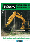 Model HSG140 and HSG160 - Harvester Heads Brochure