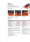 Dolmar - Model PS-32 - Gasoline Chain Saws Brochure