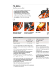 Dolmar - Model PC-6114 - Gasoline Power Cutter Brochure
