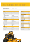 Stander - X - Commercial Lawn Mowers Technical Specifications