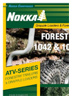 Nokka - Model 106 ATV - Forestry Trailer - DataSheet