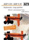 Atika - Model 4 ton ASP 4N - Electric Log Splitter Brochure