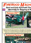 Semi-automatic Firewood Processor Transaw 350 XL- Brochure