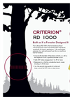 Criterion - Model RD 1000 - Relascope Dendrometer Brochure