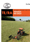 Trailed Tedders - Brochure