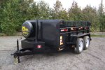 Model 3.5 Ton - Front Mount Dump Trailers