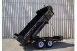 Model 7 Ton - Front Mount Super Dump Trailers