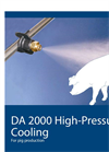 High-Pressure Cooling for Pig Production