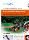 Walk Behind Electric Mowers- Brochure