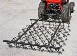 KTM - Model 4FT - Fixed Tine Regular Use Mounted Harrow